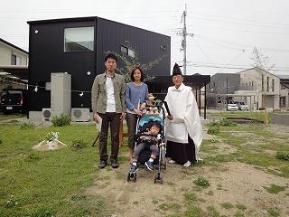 姫路豊富の家、地鎮祭
