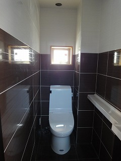 高級ホテルのトイレのようだ!
