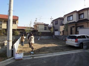 西野添Ⅱの家、地鎮祭