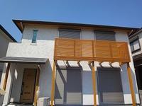 西野添Ⅱの家、外装完成!