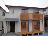 自然素材の外装、西野添Ⅱの家