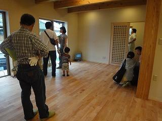 西野添Ⅱの家、体感セミナーと見学会