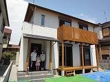 HKハウス西野添Ⅱの家、引き渡し