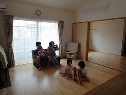 日富美の家、使いやすい家事動線を撮影