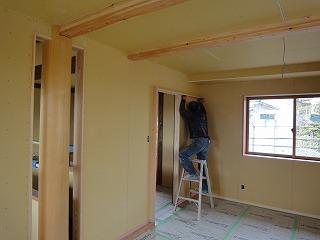 軒の深い新在家Ⅱの家、外装完成