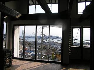 舞子坂の家、最高の眺望があるLDK