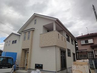 江井島Ⅱの家、外装完成