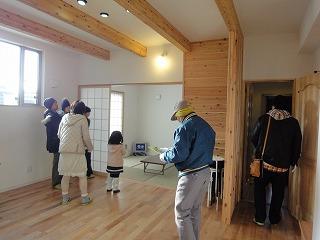 江井島Ⅱの家、見学可能