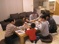 「稲美の家」のホームパーティー
