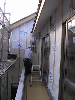 長期優良住宅「稲美の家」施工状況