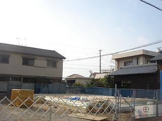 長期優良住宅「松江Ⅱの家」、上棟