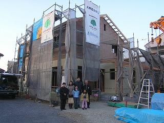 長期優良住宅「西二見の家」上棟
