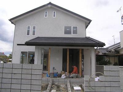 長期優良住宅「西二見の家」仕上げ工事