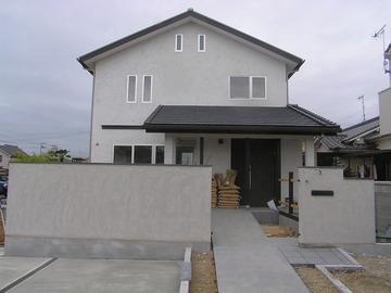 西二見の家、「和」のある住宅