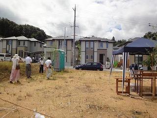 HKハウス小倉台の家、地鎮祭