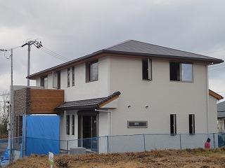 小倉台の家、外装完成!