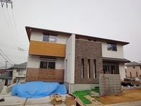 小倉台の家、外構工事中