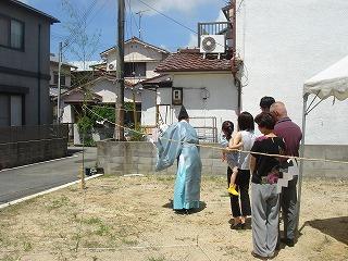 「HKハウス溝之口の家」地鎮祭