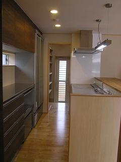 溝之口の家、使いやすい家事導線