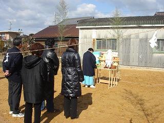 長期優良住宅「小野の家」地鎮祭