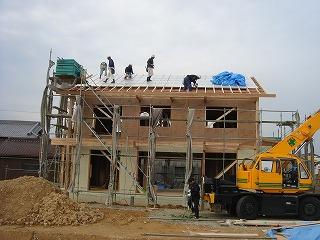 長期優良住宅「小野の家」上棟