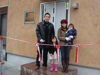 長期優良住宅「清水の家」テープカット