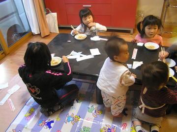 清水の家で出張中華料理!