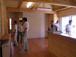 HKWハウス五色山の家、社内検査