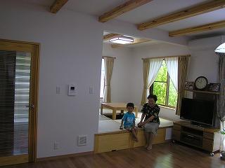 兵庫の注文住宅、撮影