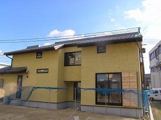 今民家、松江の家、送電完了