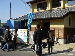 今民家、松江の家に多数参加