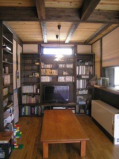 松江の家、雑誌の取材