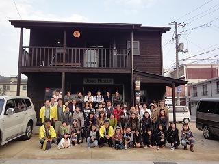 同窓会親睦旅行で岡山へ