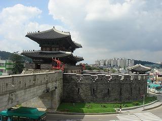 韓国の世界遺産「水原華城」①