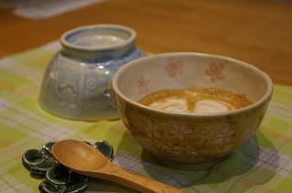 陶芸教室でカフェオレボールつくり