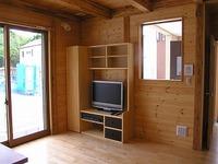 さらにオリジナル家具がある西脇の家
