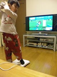 Wii Fit Plusでゴルフ練習^^