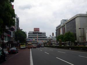 駅前周辺の風景