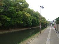 姫路の散歩道(姫路城中濠)
