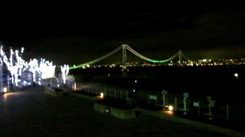淡路SA(ハイウェイ オアシス)明石海峡大橋