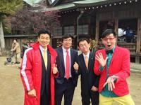 御厨神社のイベントで 2015/03/22 14:55:43