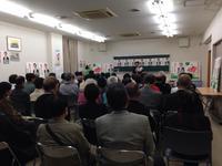 本日は明舞第2センタービルと二見小で個人演説会です!