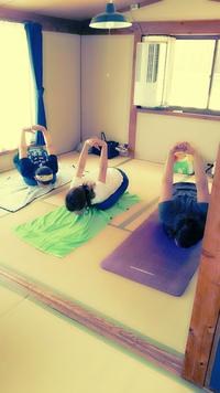 yoga 体験に行ってきました。
