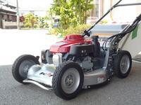 エンジン芝刈り機