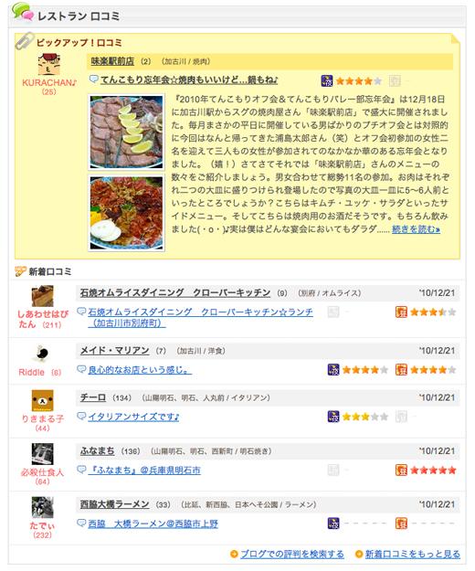 食べログ 明石・東播磨・北播磨 グルメ・レストランガイド ピックアップ記事