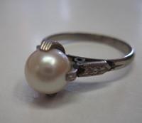 明治時代?のリング 宝石リフォーム
