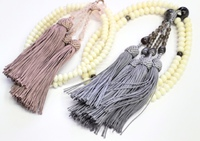 念珠 数珠 オーダー 竹珊瑚 嫁入り数珠の房交換