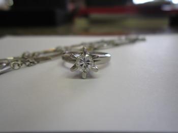 ダイヤ立爪リング 宝石リフォーム 宝石買取 下取り ジュエリーリフォーム