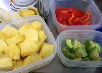 今日のイベント「ほぐみん」「野菜ソムリエ」ジュース販売