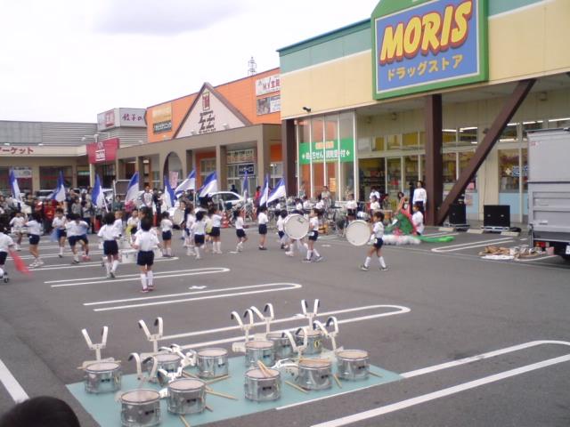 イオンアイモール高砂・4周年記念イベント マーチングバンド